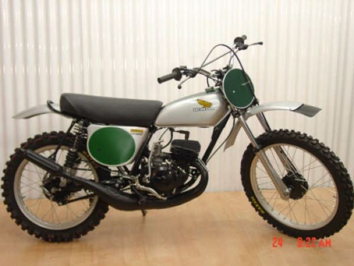 Honda 1974 Elsinore CR125-31
