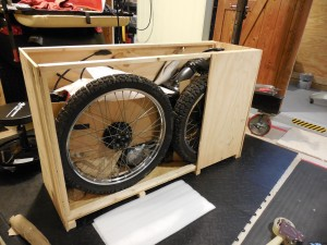 Bike crating services, shipping