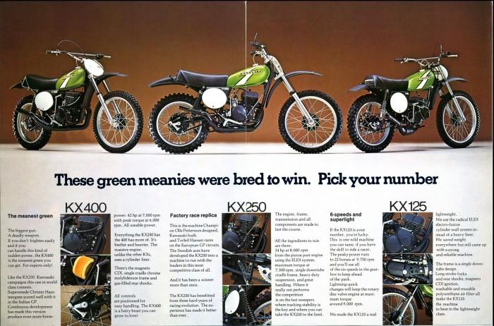 Kawa 1976 Kx400 Sold Vintage Moto House